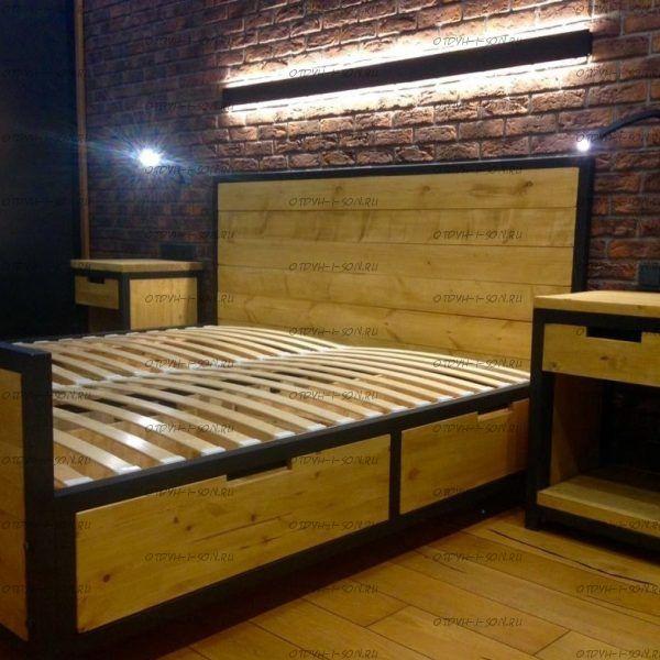 Кровать Loft №2