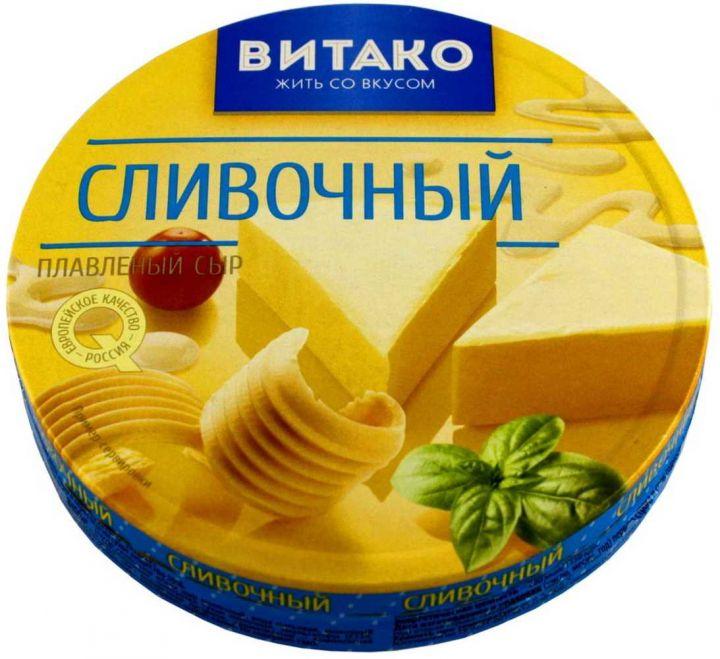 Сыр плавленый Сливочный треуг. 50%  140г Витако