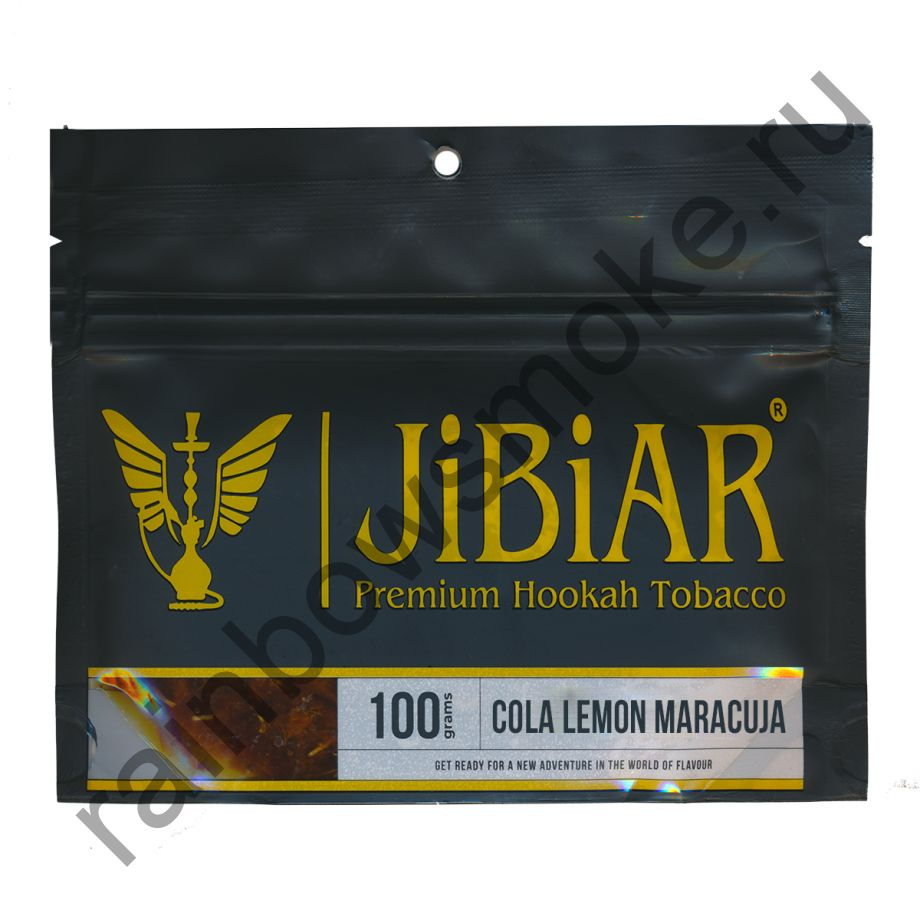 Jibiar 100 гр - Cola Lemon Maracuja (Кола Лимон Маракуйя)