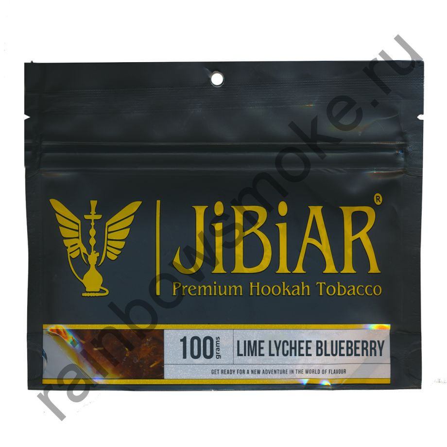Jibiar 100 гр - Lime Lychee Blueberry (Лайм Личи Черника)
