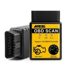 Автомобильный диагностический сканер OBD2 Scan Ancel ELM327 V1.5 Bluetooth
