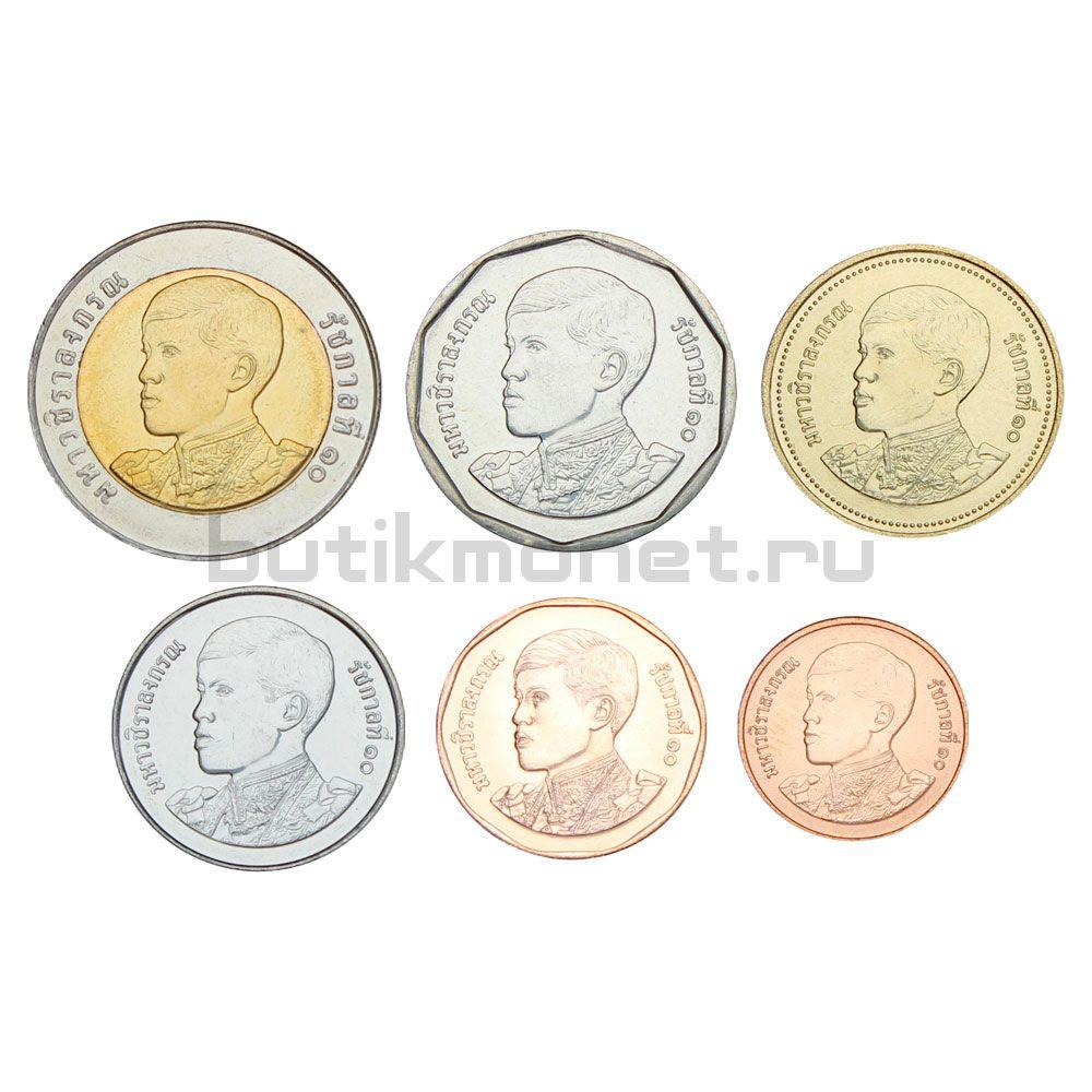 Набор монет 2018 Таиланд (6 штук)