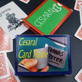 Cesaral Card Finale by César Alonso (+ОБУЧЕНИЕ) - СИНЯЯ рубашка