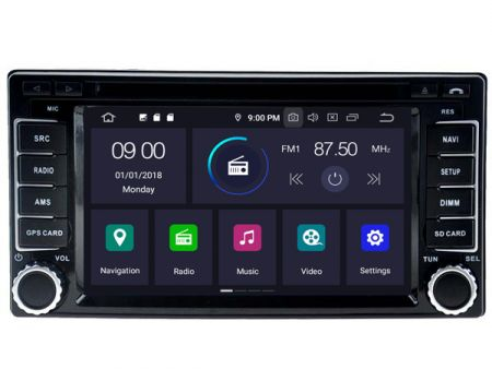 Witson Subaru Exiga 2008-2016 (W2-RVT5504)