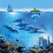 Ocean Deep Панно P8D302 80х80 (из 8 плиток)