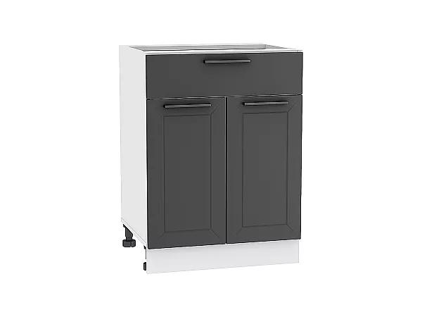 Шкаф нижний Глетчер Н601 (Маренго Силк)
