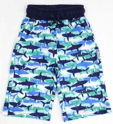 Шорты для мальчика 3-7 лет Bonito с акулами