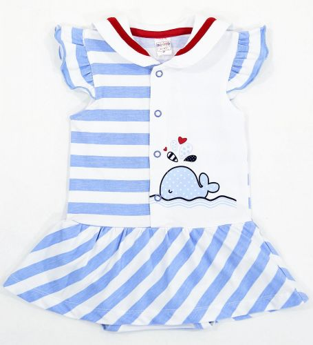 Боди-платье для новорожденных Bonito с китом