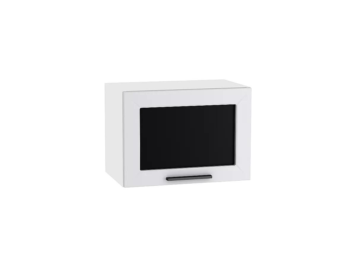 Шкаф верхний Глетчер ВГ500 со стеклом (Гейнсборо Силк)