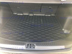 Коврик (поддон) в багажник, Rival, полиуретан