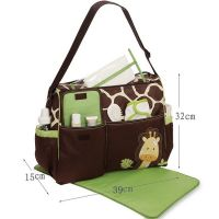 Многофункциональная сумка для мам с пеленкой Зверята