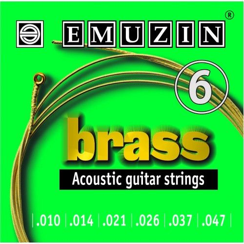 EMUZIN 6А103 (10-47) Струны для акустической гитары