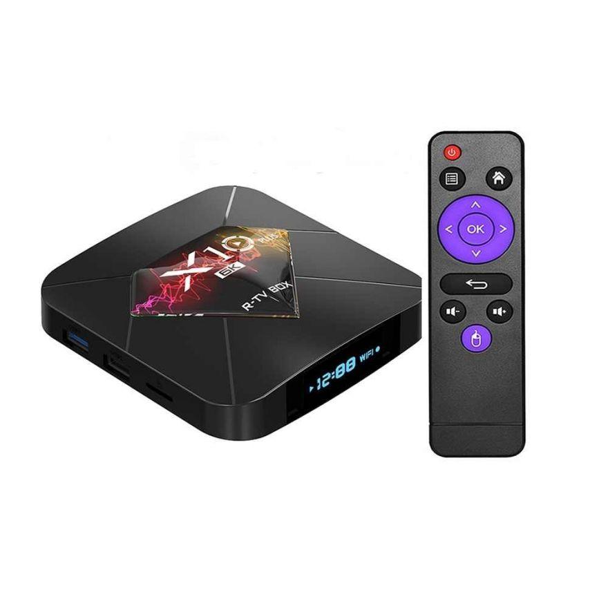 Приставка Смарт TV Box Андроид 9.0 X10 Plus 4/64 Гб