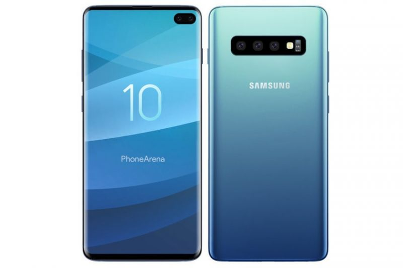 Samsung Galaxy S10 8/128GB Blue
