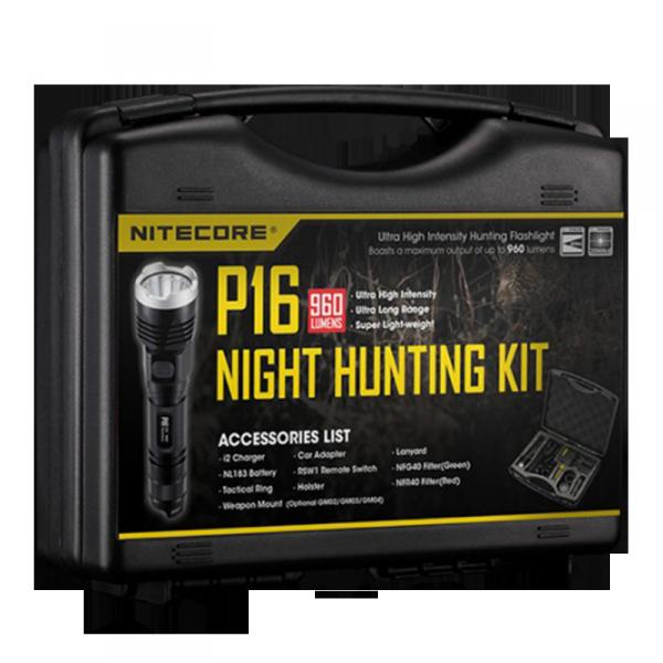 Набор для ночной охоты Nitecore P16