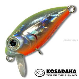 Воблер Kosadaka Roger Surf 36F 36 мм / 3,35 гр / Заглубление: 0,1 - 0,3 м / цвет: LME