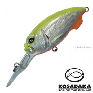 Воблер Kosadaka Synthez XL 55F 55 мм / 12,9 гр / Заглубление: 0,7 - 1,5 м / цвет: LME