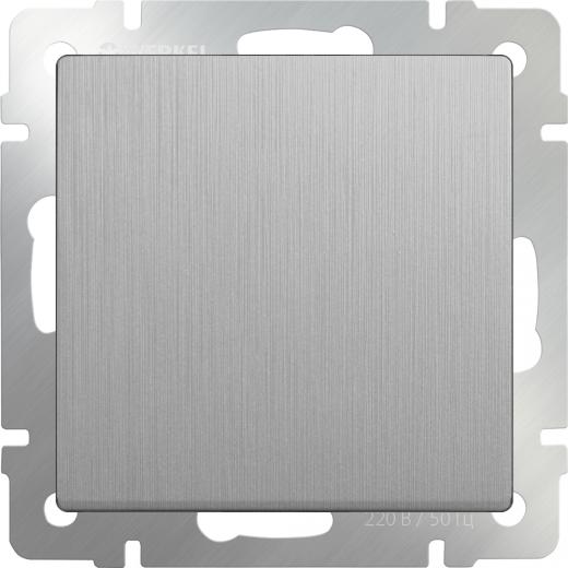 Декоративная заглушка / WL06-70-11 серебряная