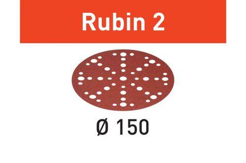 Шлифовальные круги STF D150/48 P150 RU2/50 Rubin 2