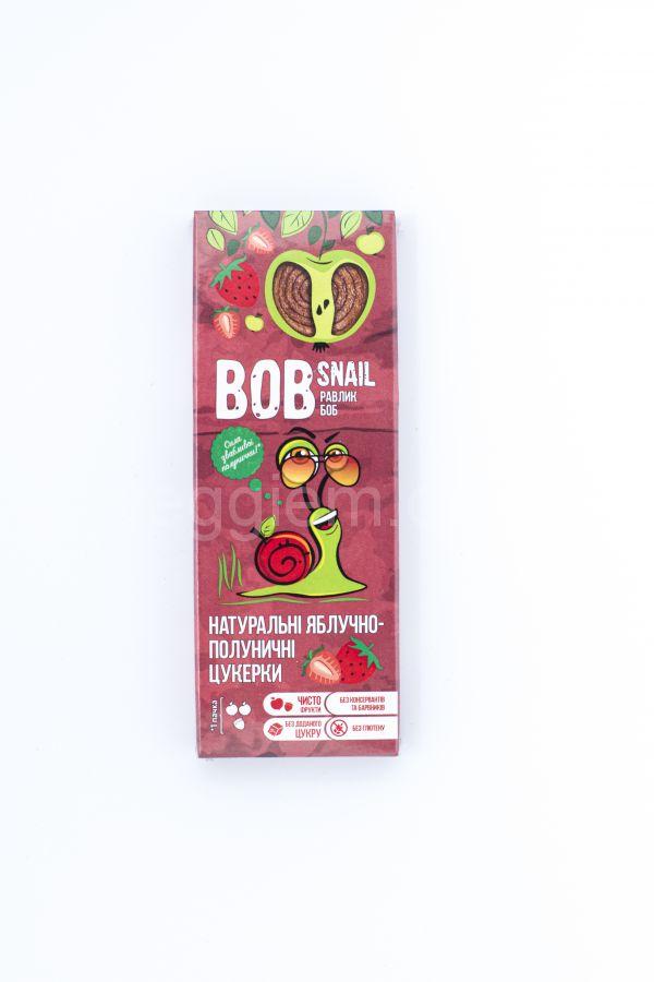 Пастила яблочно-клубничная Bob Snail,30 грамм