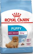 Royal Canin Mini Indoor Puppy Корм для щенков собак мелких размеров, 500 г.