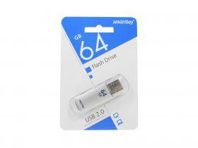 64GB USB-флеш накопитель V-CUT SMARTBUY серебро