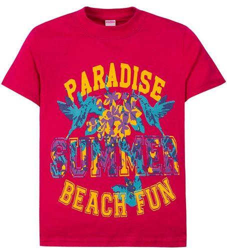 """Футболка для девочек 6-9 лет Sladikmladik """"Beach fun"""""""