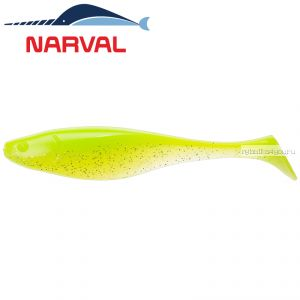 Мягкие приманки Narval Commander Shad 100 мм / упаковка 5 шт / цвет: 004 Lime Chartreuse