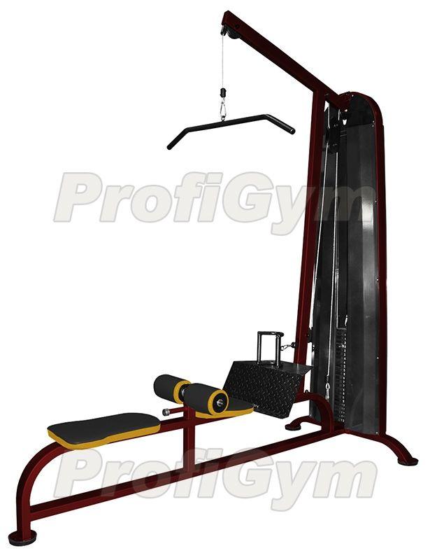 ТГ-020К Универсальный тренажер «верхняя+нижняя тяга» (120 кг) серия Rubin Premium
