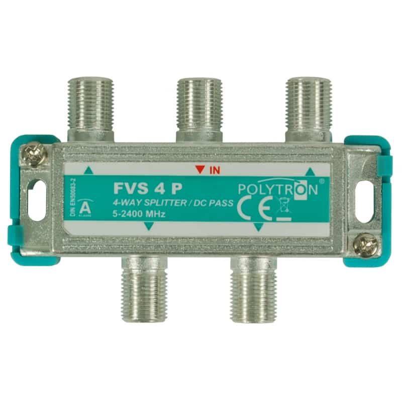 ТВ делитель (сплиттер) спутниковый FVS 4 P