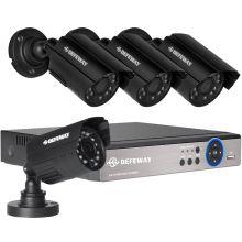 Комплект видеонаблюдения DEFEWAY 4 внешних камеры