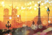 Paris P4D245 Панно из 4-х плиток 60х40