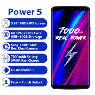 Смартфон LEAGOO Power 5 6/64 гб 7000mah