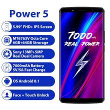 Смартфон LEAGOO Power 5 6/64 гб 7000mah