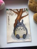 "Cross stitch patterns ""Totoro""."
