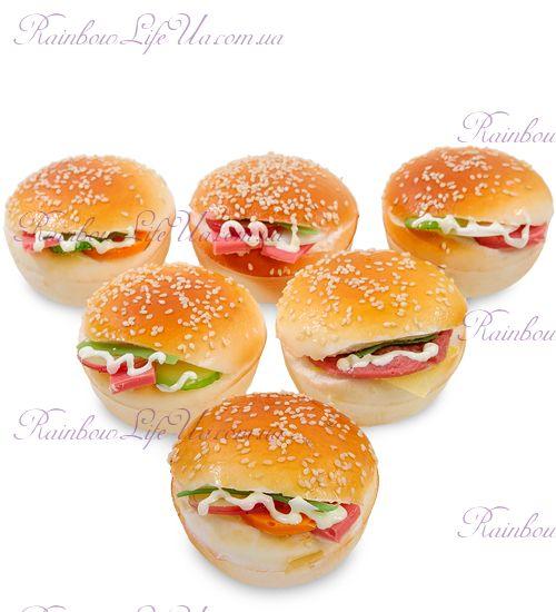 """Магнит имитация """"Гамбургер"""""""