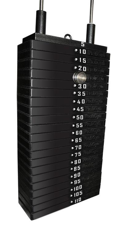 Грузовый стек для тренажеров 100 кг