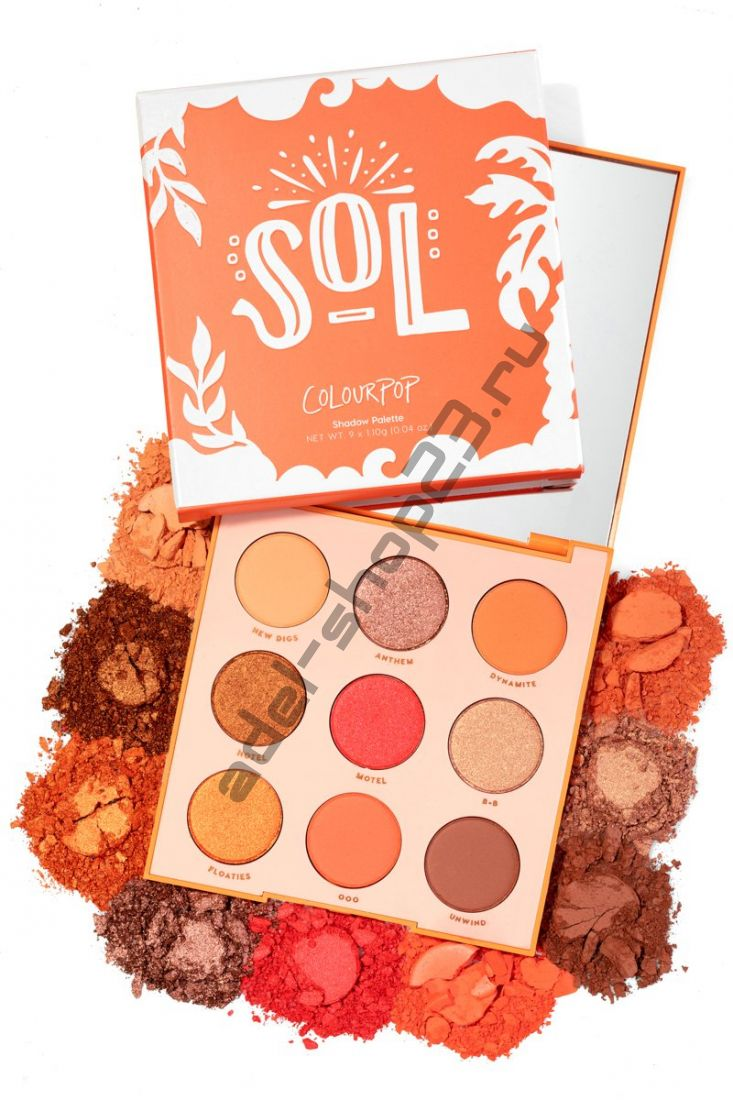Colourpop - тени для век Sol Quantity