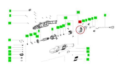 Электроника для полировальной машинки RAP 150 FE SHINEX FESTOOL