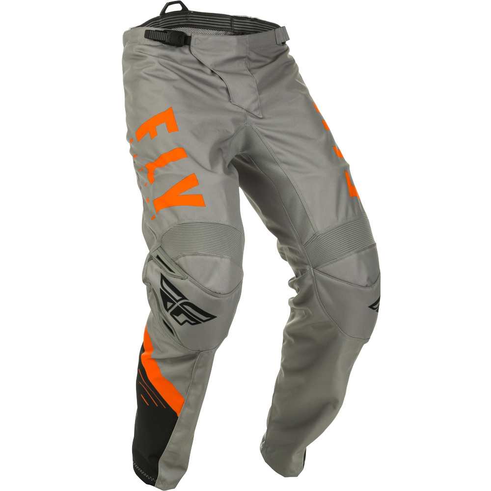 Fly - 2020 F-16 Grey/Black/Orange штаны, серо-черно-оранжевые