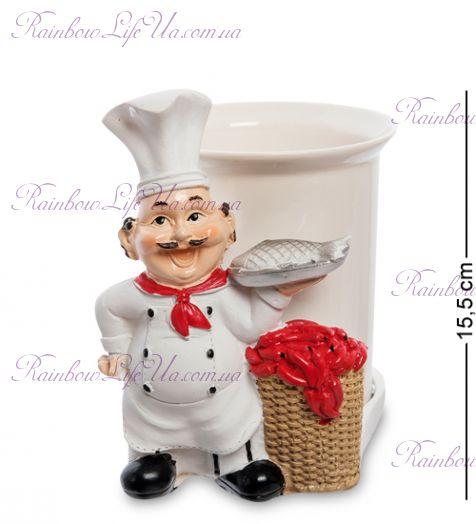 "Фигурка повар с вазой ""HF"""