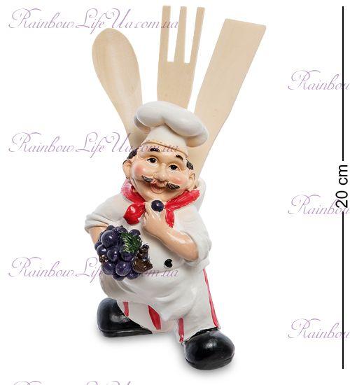 """Фигурка повар с вазой и кухонной утварью """"HF"""""""