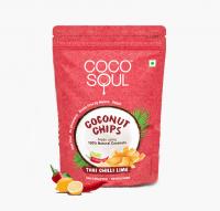 Кокосовые чипсы Чилли Лайм Коко Соул | Coco Soul Coconut Chips Chilli Lime
