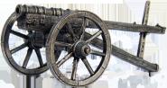 Кулеврина, 2-я пол. 15 века ЦИНКОВЫЙ СПЛАВ