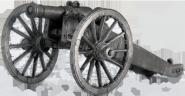 Полупудовый (1/2 пд) единорог системы Аракчеева. Россия, 1-я четв. 19 века