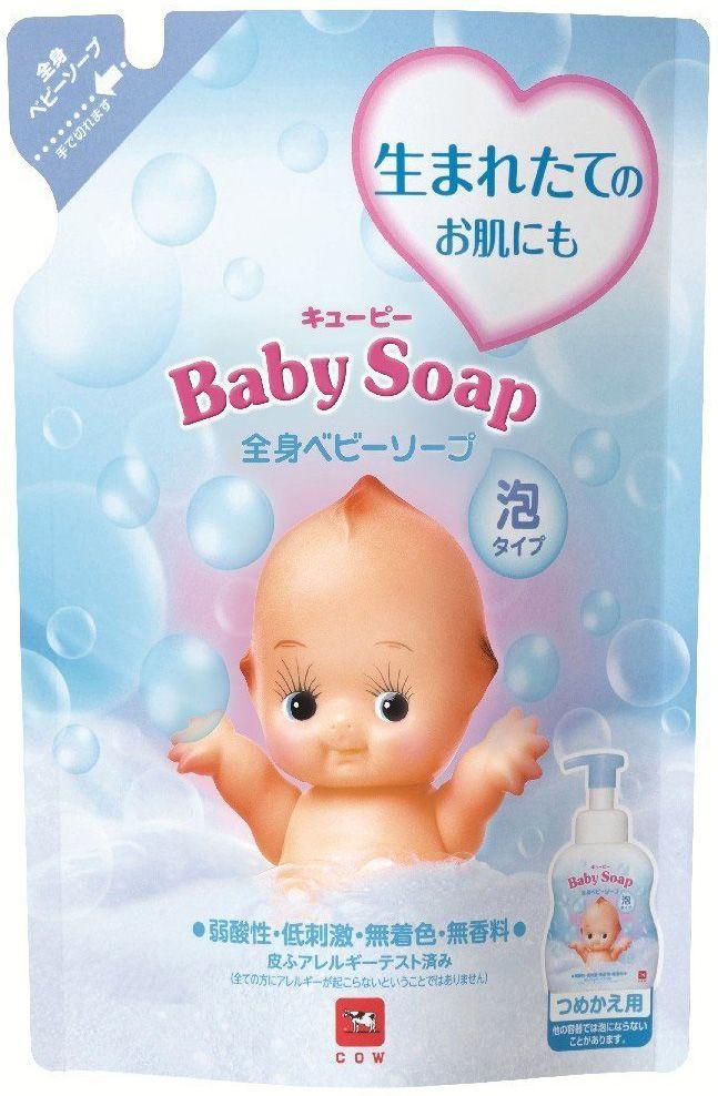 Сменный блок - детское мыло-пенка COW (KEWPIE)