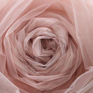 Мягкий фатин (еврофатин) 300х25 см- Пыльная роза