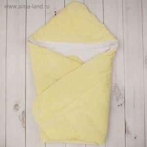 Конверт-одеяло с вышивкой, размер 90*90 см, цвет жёлтый 2157 Желт   1999380