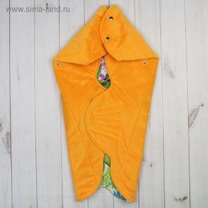 """Одеяло конверт трансформер """"Тропики"""", цвет жёлтый ОКт/Тр   1777630"""