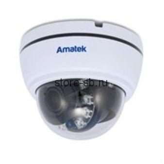 Amatek AC-HD202VS (2.8-12) Купольная мультиформатная видеокамера, Ик, 2Мп